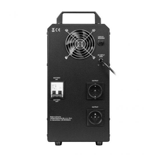Záložný zdroj Kemot 500W 12V/230V so vstavaným akumulátorom 55Ah URZ3424
