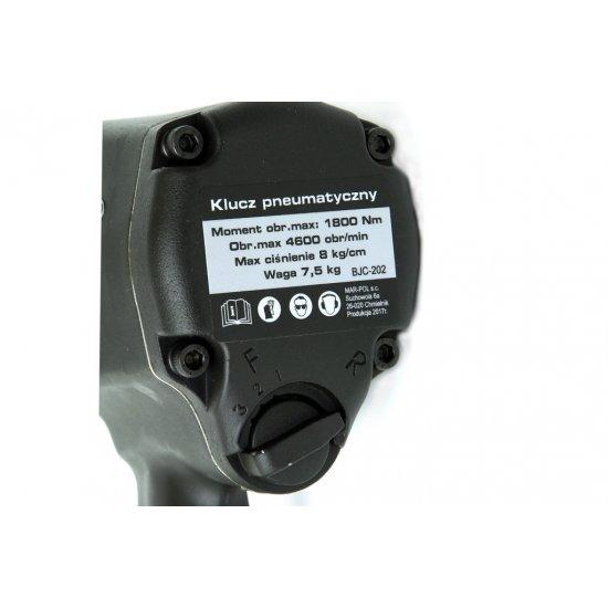 """Pneumatický rázový uťahovák 3/4"""" - M80512"""