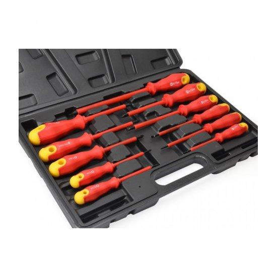 Izolované elektrikárske skrutkovače sada 11ks FT25100