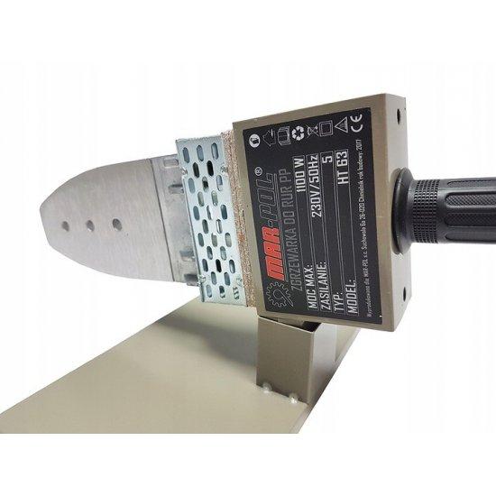 Polyfúzna zváračka plastových trubiek nožová 1100W