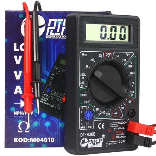 Digitálny multimeter DT-830B - M04010