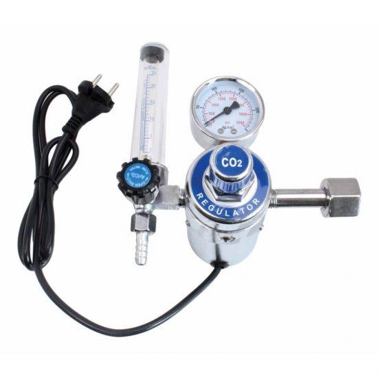 Redukčný ventil CO2 a argón regulátor tlaku s ohrevom S-HER