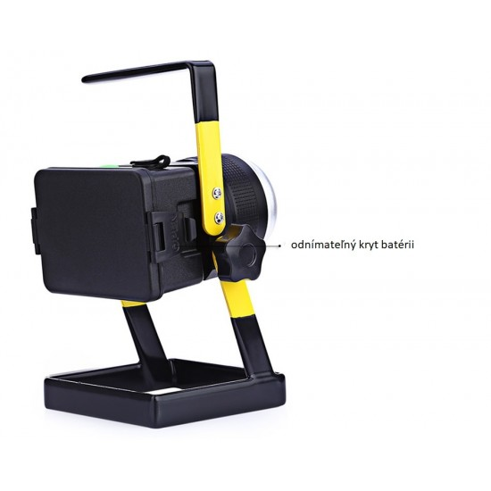 CREE LED reflektor akumulátorový - KAMAX