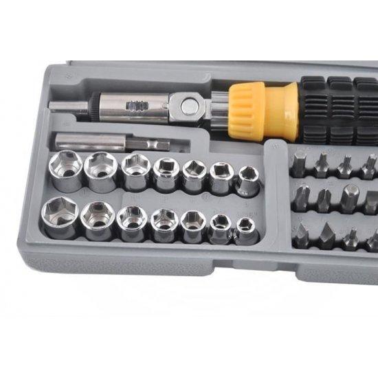 Sada AIWA  bitov a kľúčov 41 dielna - KAMAX