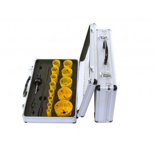 Sada korunkové vrtáky BI-METAL 17-dielna M22575