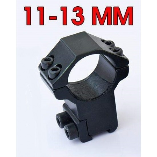 Montáž na puškohľad 11 mm priemer tubusu 24,5 mm