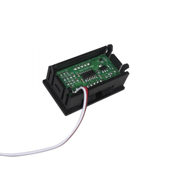 Panelový voltmeter 4,5 až 30V jednosmerný - KAMAX