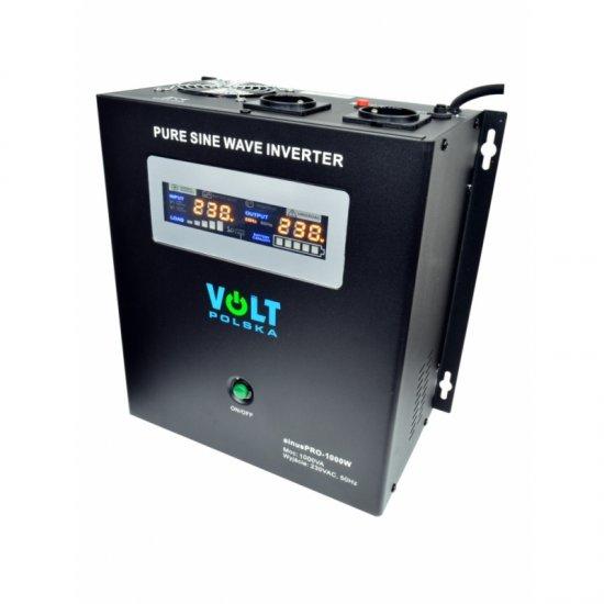 Záložný zdroj ku kotlu Volt sinus PRO 700/1000W 12V závesný