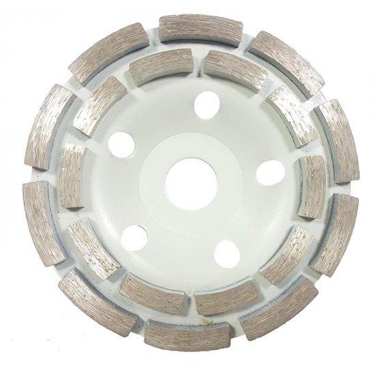 Brúsny diamantový kotúč 125x22.2x5mm segmentový - M08783